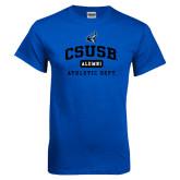 Royal T Shirt-CSUSB Alumni Athletic Dept
