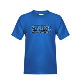 Youth Royal T Shirt-CSUSB Athletics