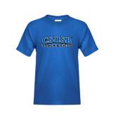 Youth Royal T Shirt-Track & Field