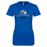 Next Level Ladies SoftStyle Junior Fitted Royal Tee-Mom
