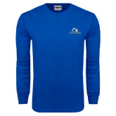 Royal Long Sleeve T Shirt-Primary Logo