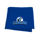 Royal Sweatshirt Blanket-Primary Logo