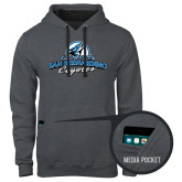 Contemporary Sofspun Charcoal Heather Hoodie-Secondary Logo
