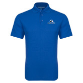 Royal Dry Zone Grid Polo-Primary Logo