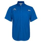 Columbia Bonehead Royal Short Sleeve Shirt-Primary Logo