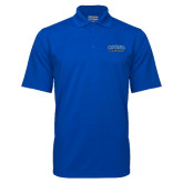 Royal Mini Stripe Polo-CSUSB Athletics