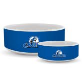 Ceramic Dog Bowl-Primary Logo