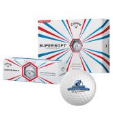 Callaway Supersoft Golf Balls 12/pkg-Secondary Logo