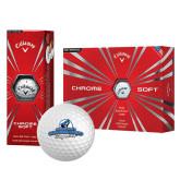 Callaway Chrome Soft Golf Balls 12/pkg-Secondary Logo