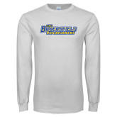 White Long Sleeve T Shirt-CSU Bakersfield Roadrunners