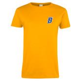 Ladies Gold T Shirt-B
