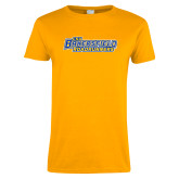 Ladies Gold T Shirt-CSU Bakersfield Roadrunners