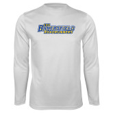 Syntrel Performance White Longsleeve Shirt-CSU Bakersfield Roadrunners