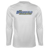 Performance White Longsleeve Shirt-CSU Bakersfield Roadrunners