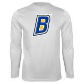 Performance White Longsleeve Shirt-B