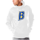 Under Armour White Armour Fleece Hoodie-B