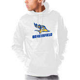 Under Armour White Armour Fleece Hoodie-Roadrunner Head Bakersfield