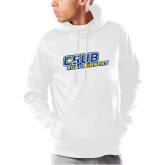 Under Armour White Armour Fleece Hoodie-CSUB Roadrunners