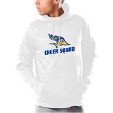 Under Armour White Armour Fleece Hoodie-Cheer Squad