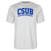 Syntrel Performance White Tee-Arched CSUB Roadrunners