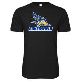 Next Level SoftStyle Black T Shirt-Roadrunner Head Bakersfield