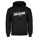Black Fleece Hoodie-Slanted Roadrunners Stencil w/ Logo