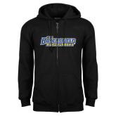 Black Fleece Full Zip Hoodie-CSU Bakersfield Roadrunners
