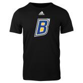 Adidas Black Logo T Shirt-B