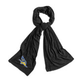 Black Eco Jersey Bundle Up Scarf-Primary Logo