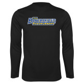 Performance Black Longsleeve Shirt-CSU Bakersfield Roadrunners