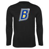 Performance Black Longsleeve Shirt-B