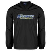 V Neck Black Raglan Windshirt-CSU Bakersfield Roadrunners