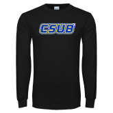 Black Long Sleeve TShirt-CSUB
