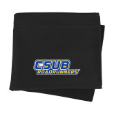 Black Sweatshirt Blanket-CSUB Roadrunners