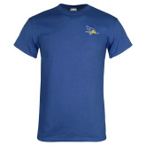 Royal Blue T Shirt-Primary Logo