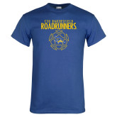 Royal T Shirt-Roadrunners Soccer Outlines