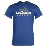 Royal Blue T Shirt-CSUB Roadrunners Softball Seam