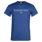 Royal Blue T Shirt-Champions Made Here Flat