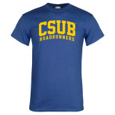 Royal Blue T Shirt-Arched CSUB Roadrunners