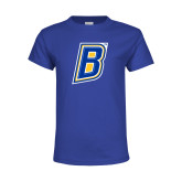 Youth Royal T Shirt-B