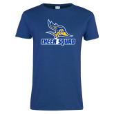 Ladies Royal T Shirt-Cheer Squad