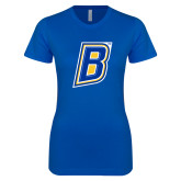 Next Level Ladies SoftStyle Junior Fitted Royal Tee-B