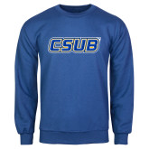 Royal Fleece Crew-CSUB