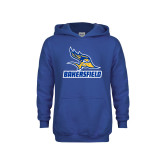 Youth Royal Fleece Hoodie-Roadrunner Head Bakersfield