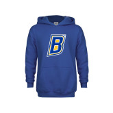 Youth Royal Fleece Hoodie-B