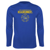 Syntrel Performance Royal Longsleeve Shirt-Roadrunners Soccer Outlines