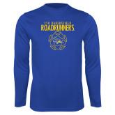 Performance Royal Longsleeve Shirt-Roadrunners Soccer Outlines