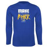 Performance Royal Longsleeve Shirt-Make Your Mark