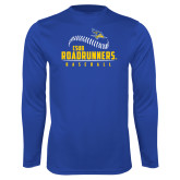 Syntrel Performance Royal Longsleeve Shirt-CSUB Roadrunners Baseball Seam