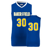 Replica Royal Adult Basketball Jersey-#30